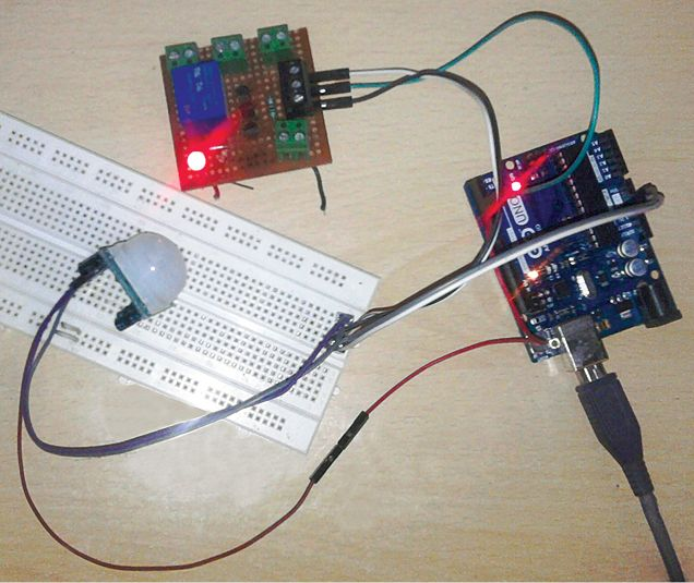 Build An Iot Based Motion Detector Using Cayenne Full Diy Project Iot Motion Detector Electronics Projects