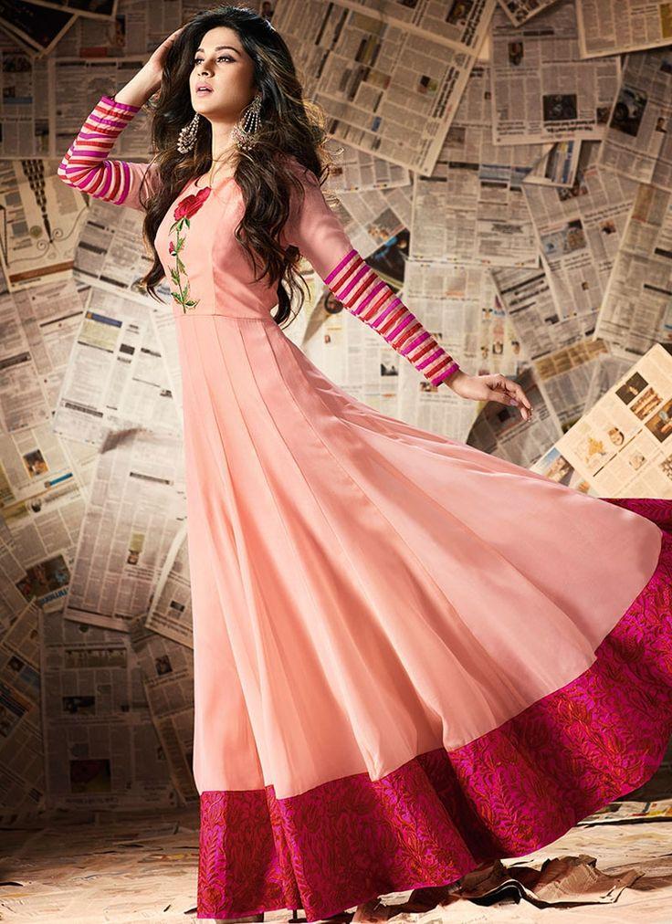 Buy Classical Jennifer Winget Floor Length Anarkali Suit  #salwarkameez #anarkalisuits #womensuits #anarkalifashion #salwarkameezsale #glamor #glamorous