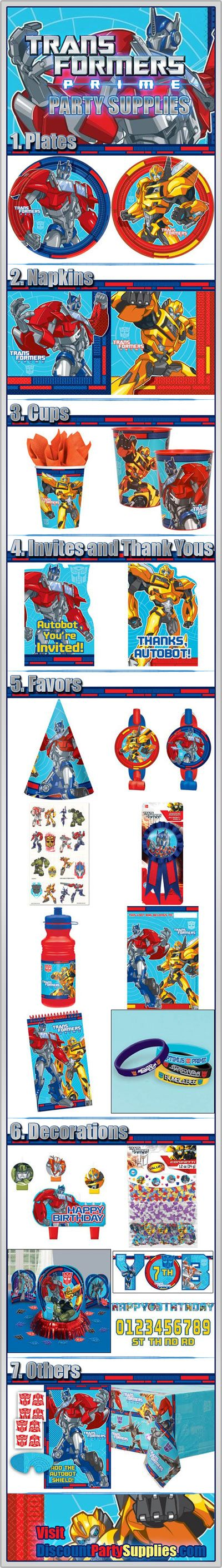 #Transformers Party Supplies Receive a Prime Refresh! - This new Transformers Prime theme replaces the old Transformers 3 theme: http://www.discountpartysupplies.com/blog/2013/04/09/transformers-party-supplies-receive-a-prime-refresh/