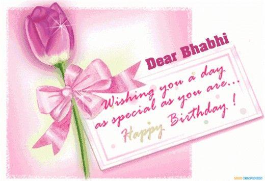 Birthday Quotation for Bhabhi