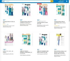 Scrub Patterns for Work or Fun: Simplicity and Butterick Scrubs Patterns at Wal-Mart.com