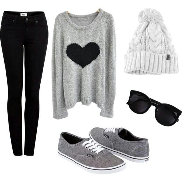 Super cute teen outfit for fall or winter! -Tween/Teen Fashion & Accessories