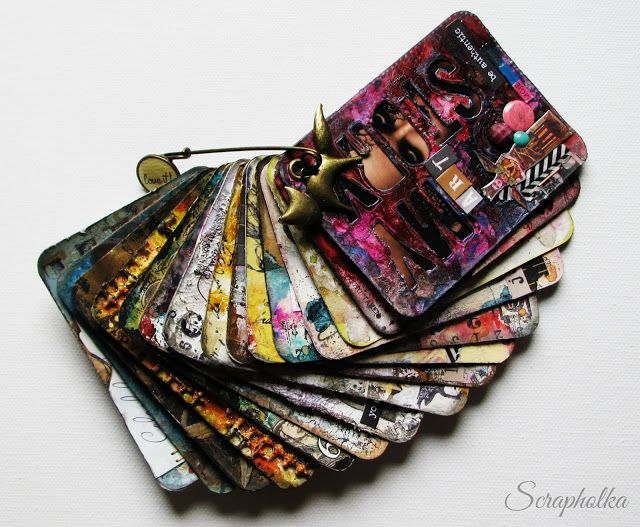 Scrapholka: Pocket Sized Art Journal for Papero amo