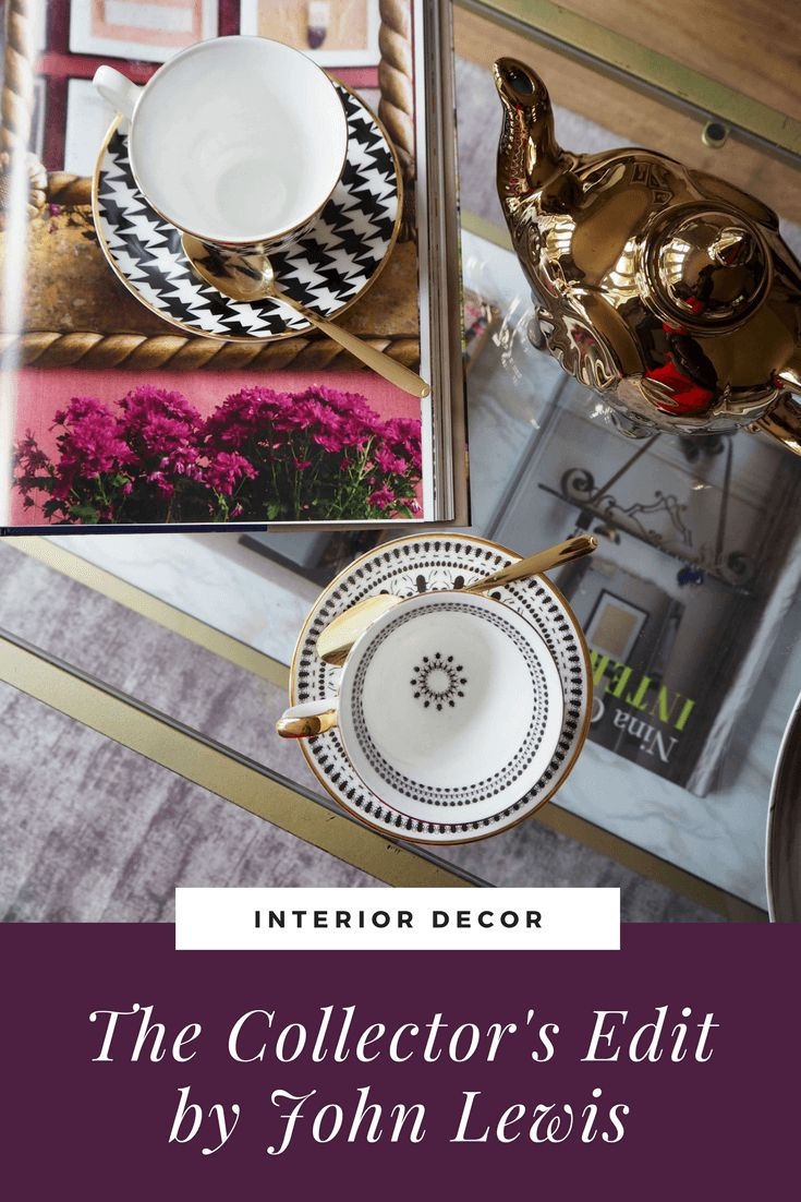 The latest trend for interiors is the Collector. Opulent, sometimes enigmatic, the trend mixes old and new, classic and modern styles. Interiors inspiration from Seasons in Colour. Table coffee styling.