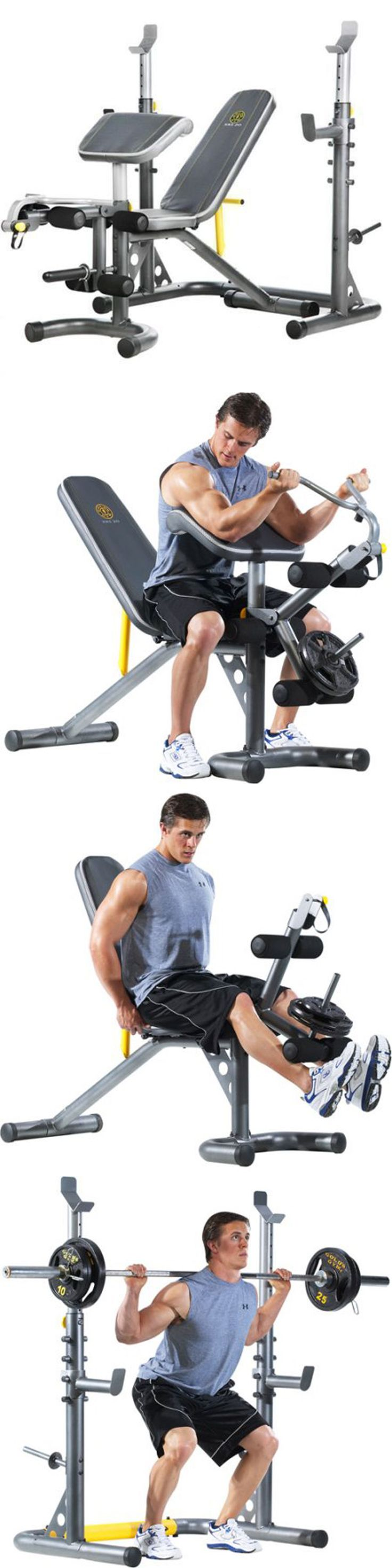 Benches 15281: Golds Gym Workout Bench Weight Lifting Press Power Rack Exercise Fitness Xrs 20 -> BUY IT NOW ONLY: $180.5 on eBay!
