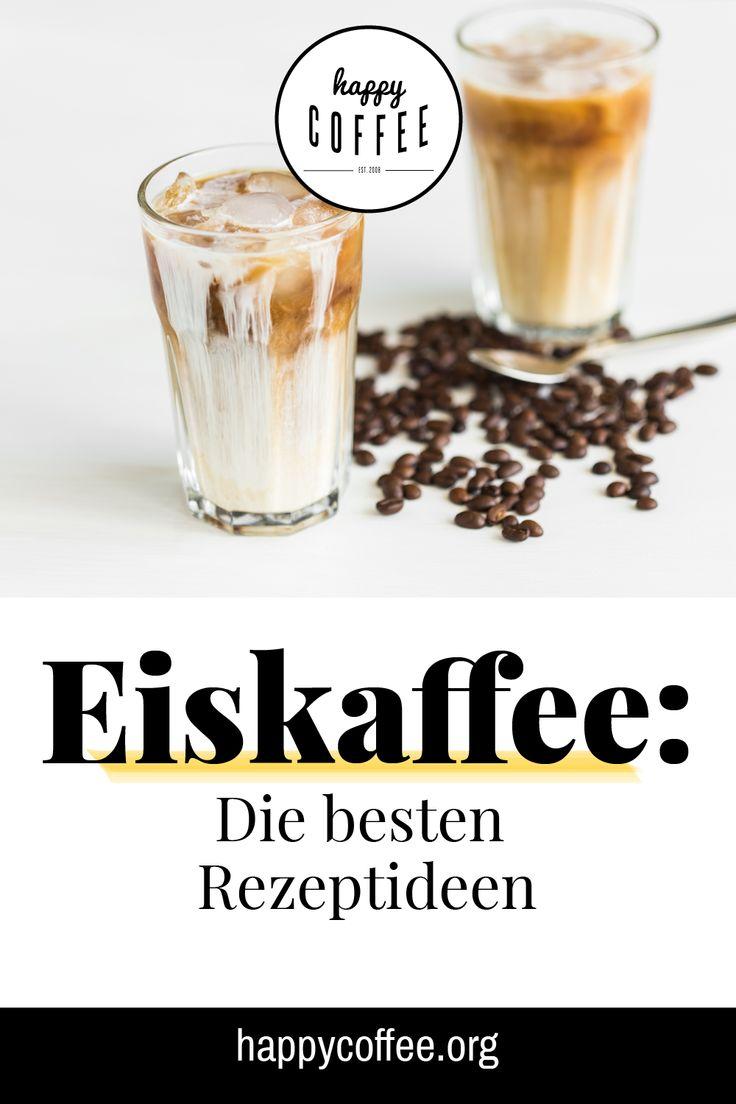Eiskaffee muss nicht immer eine Kalorienbombe aus Vanilleeis, Sahne und Schokolade sein …   – Gesunde Ernährung