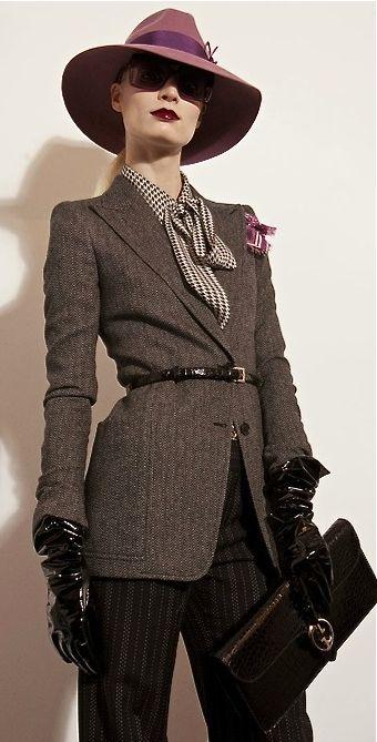 Gucci 1940's style