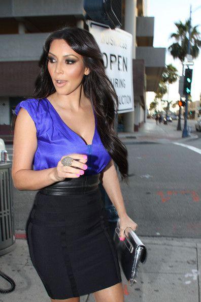 Kim Kardashian - Kim Kardashian and Miles Austin at Crustaceans Restaurant