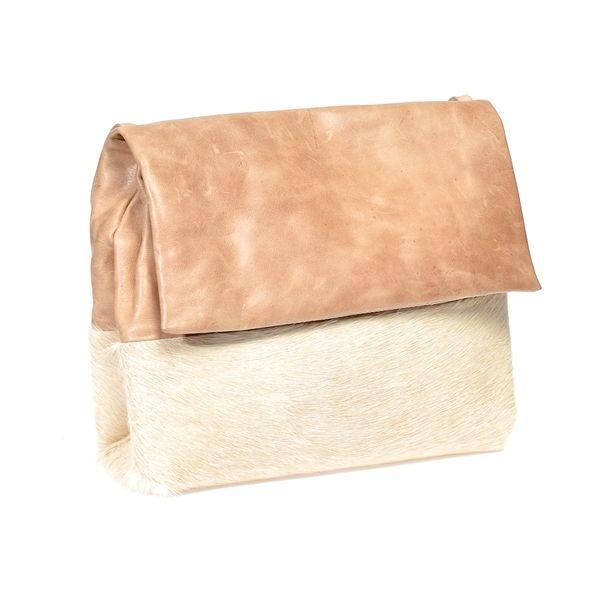Rosie Bag in Hazelnut + Cream - MOOI STORE
