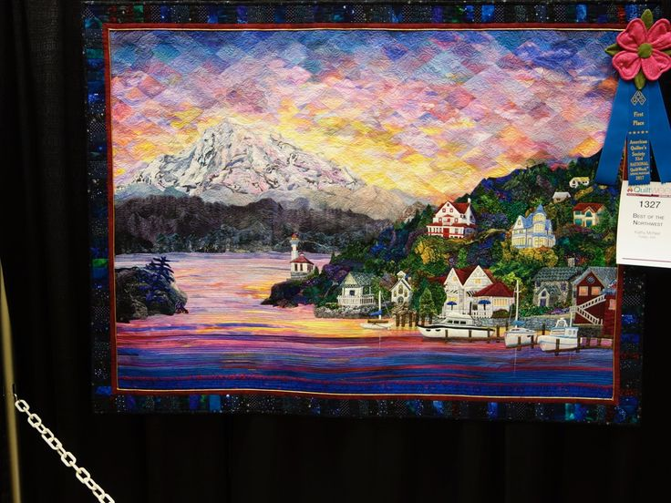 1st Place Small Wall Quilts-Pictorial Paducah 2017 - TheQuiltShow.com