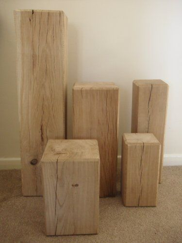 Beautiful Oak Beam Lamp Stand / Side Table / Speaker Stand 300mmx150mmx150mm by Brigstock Sawmill, http://www.amazon.co.uk/dp/B005CA126O/ref=cm_sw_r_pi_dp_yxfgsb1KYTQZB