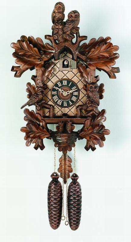 River City Cuckoo Clocks 8 Day Cuckoo Clocks Owls, Bird & Nest Cuckoo Clock