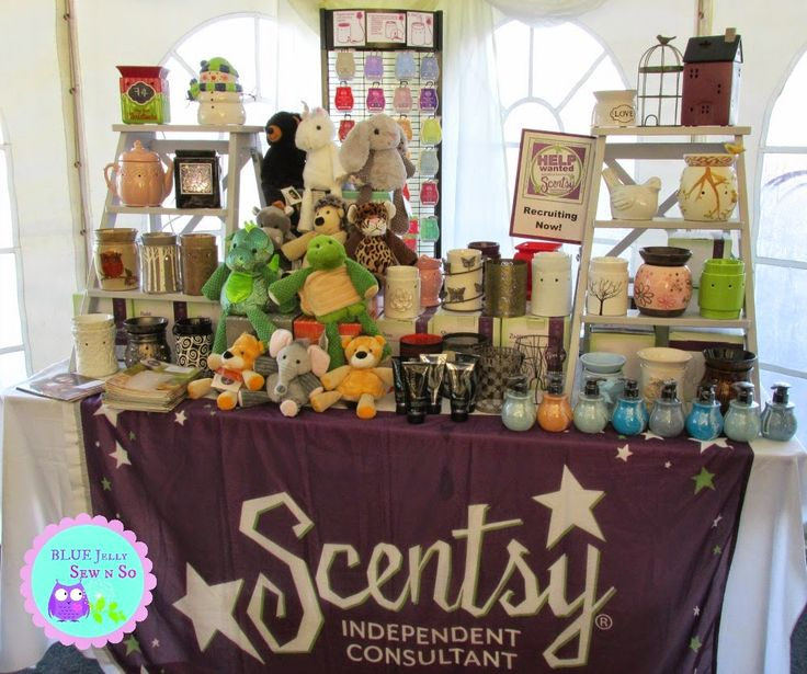 craft fair and scentsy display idea vendor event and. Black Bedroom Furniture Sets. Home Design Ideas