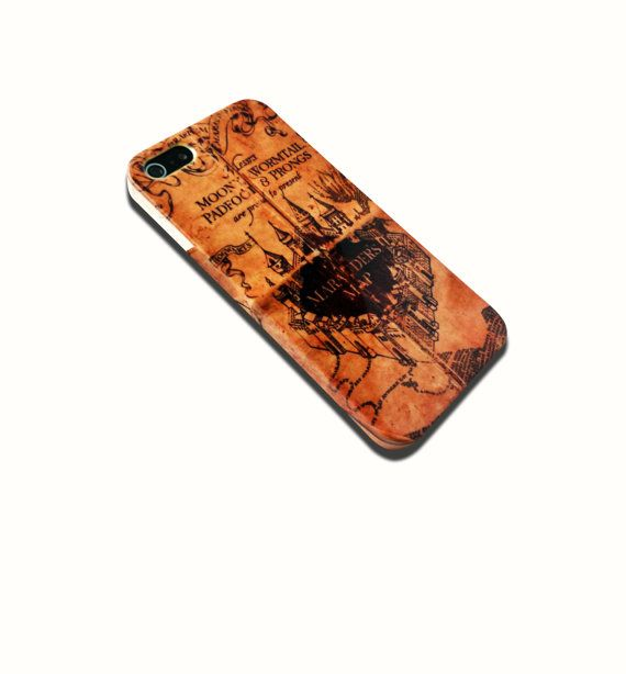 Marauders Map Hard Case iPhone 4 4s 5/5s 5c and by VDirectCases