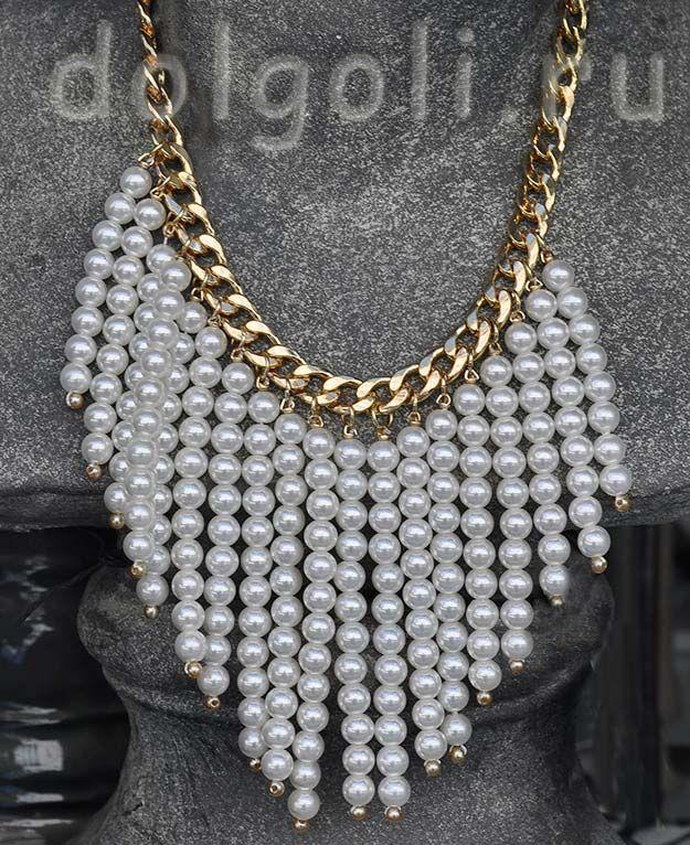 Украшения ожерелье своими руками