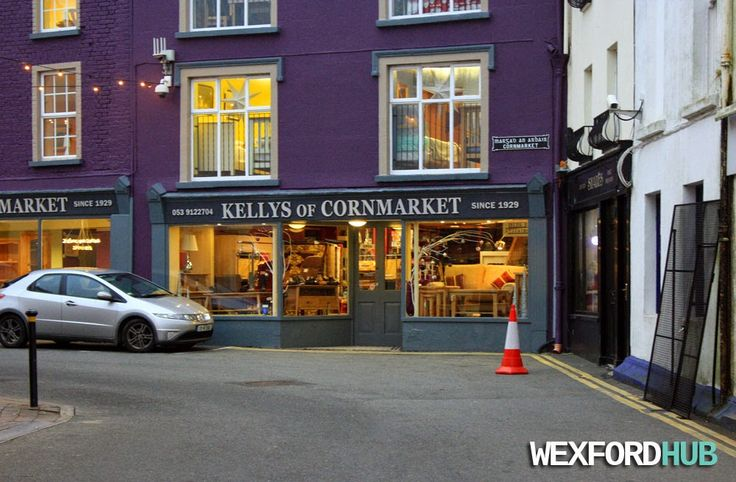 Kellys of Cornmarket: A furniture store in Wexford Town.