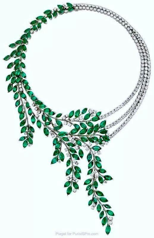 Emerald and diamond
