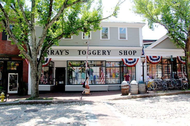 Murray's Toggery Shop. Nantucket | I Love Small Towns ...