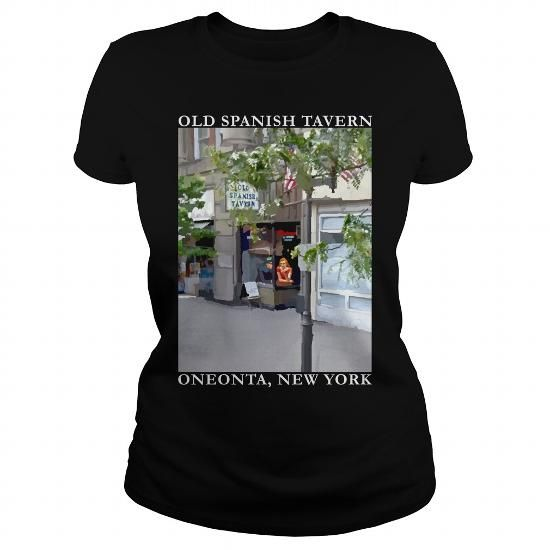 Old Spanish Tavern Shirt Womens Black T Shirts, Hoodie Sweatshirts