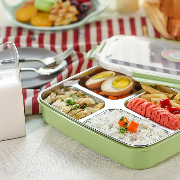 DUOLVQI Stainless Steel Lunch Boxs Containers With Compartments Microwave Bento Box For Kids Picnic Food Container Tray Boxs. Your client put arrange in your store or website You put in a similar request in our store and keep the profits We will send the request to your clients directly The products by China Post Air, best offer