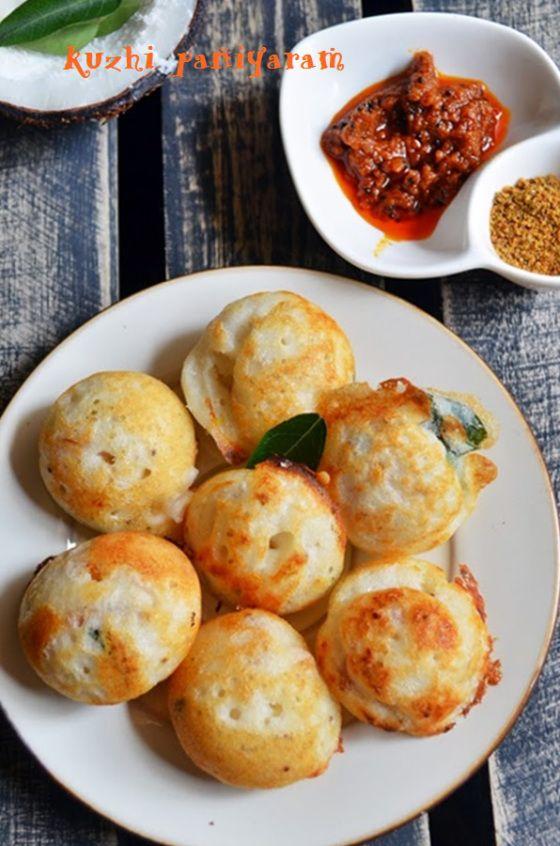 Quick evening snack, spicy masala vegetable paniyaram!  Recipe @ http://cookclickndevour.com/kuzhi-paniyaram-spicy  #cookclickndevour #vegan #recipeoftheday