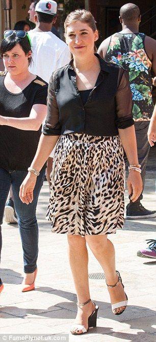 Modest: #leopardprint #skirt