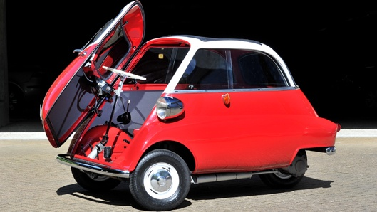 "Micro-auto ""Isetta"", Ermenegildo Preti, Iso Rivolta, 1953"
