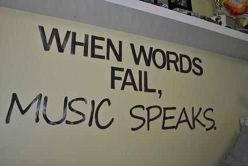 When words fail...