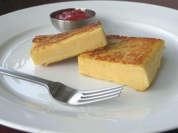 Kikkererwten 'tofu' – Vegetus