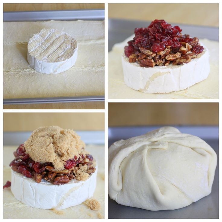 Cranberry & Pecan Brie. Perfect Holiday Appetizer: Toast Pecans, Toast Cinnamon, Cinnamon Pecans, Perfect Start, Brown Sugar, Pecans Brie, Puff Pastries, Baking Brie, Brie Tops