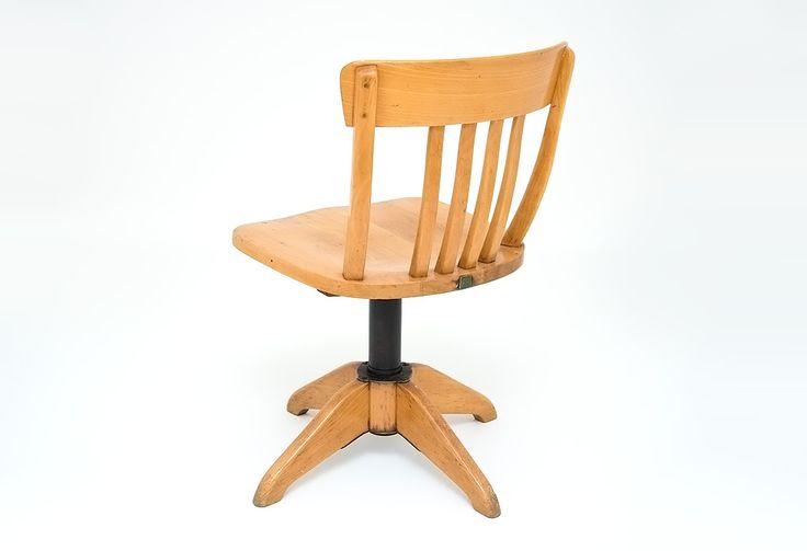 STOLL krzesło industrialne design lata 40 bauhaus