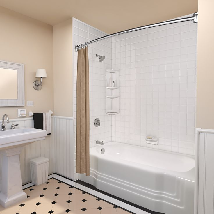 A Bath Fitter remodel makes your entire bathroom feel new.