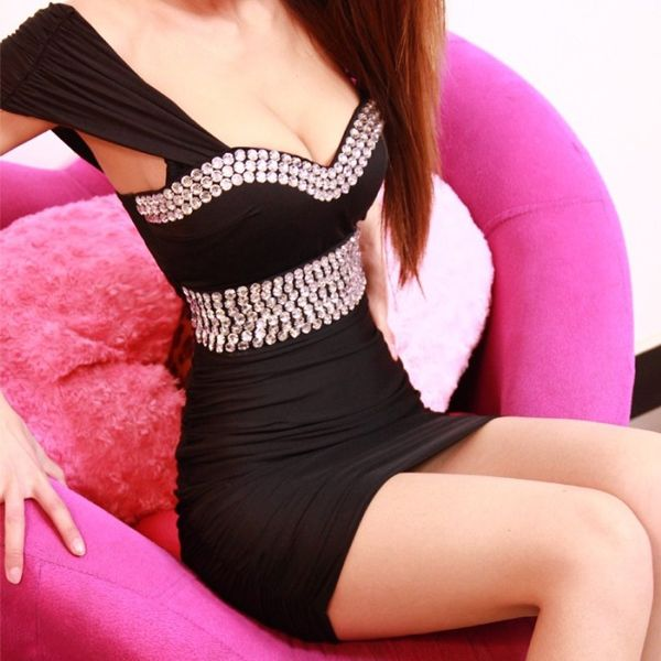 Beauty Rose Silk Sheath Mini Sexy Style Day To Night Dress