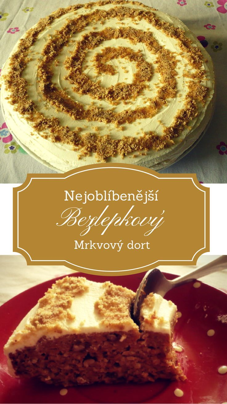 Nejlépe hodnocený dezert na našem webu - bezpšeničný mrkvový dort, celý recept k dispozici zde... (scheduled via http://www.tailwindapp.com?utm_source=pinterest&utm_medium=twpin&utm_content=post108147389&utm_campaign=scheduler_attribution)