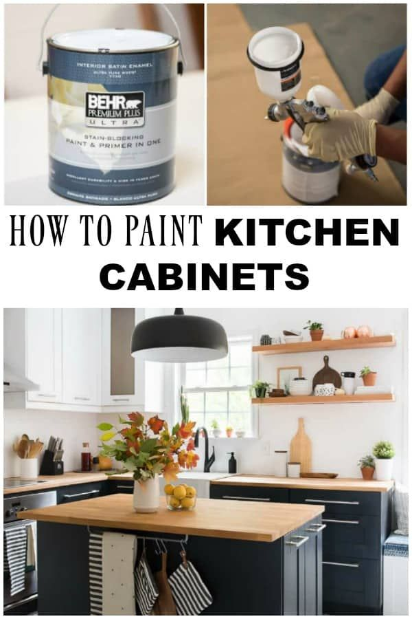 Paint Kitchen Cabinets It S Such A Dramatic Change That Yo U Can Achieve In Your