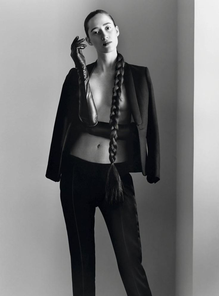 New Couture (Vanity Fair France).  January 2016.   Paul Wetherell - Photographer.   Michael Philouze - Fashion Editor/Stylist.   Nicolas Jurnjack - Hair Stylist.   Christine Corbel - Makeup Artist.   Helena Severin - Model.
