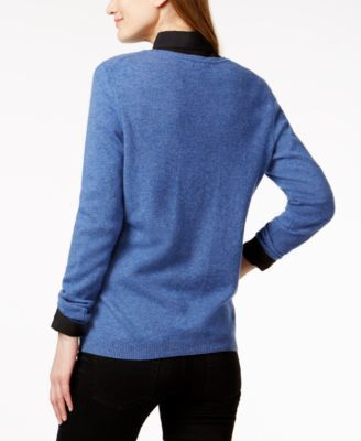 Charter Club Cashmere Sweater, Created for Macy's - Red L ...