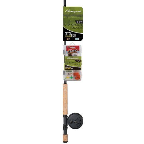 Shakespeare Catch More Fish Fly Fishing Rod and Reel Combo, 8-Feet by Shakespeare. Shakespeare Catch More Fish Fly Fishing Rod and Reel Combo, 8-Feet. 8-Feet.