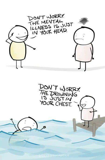 Mental illness..
