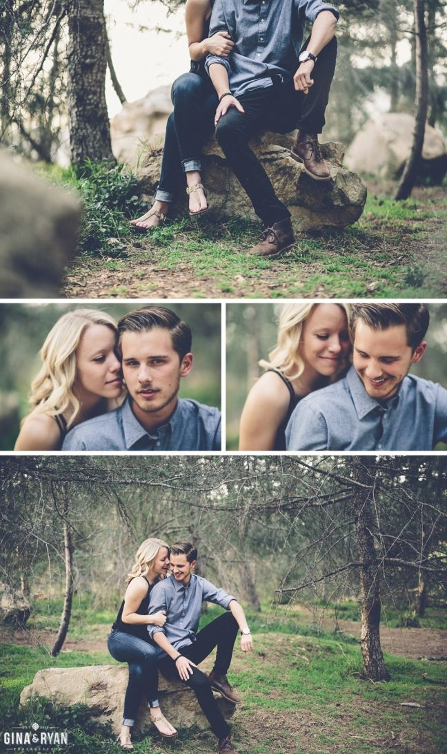 Woodsy Engagement Session, Los Angeles | Engagement Photography | Lifestyle…