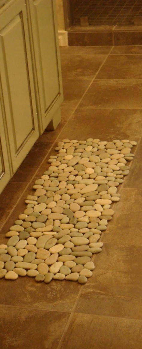 Pebble Bath Rug or Welcome Mat-$70