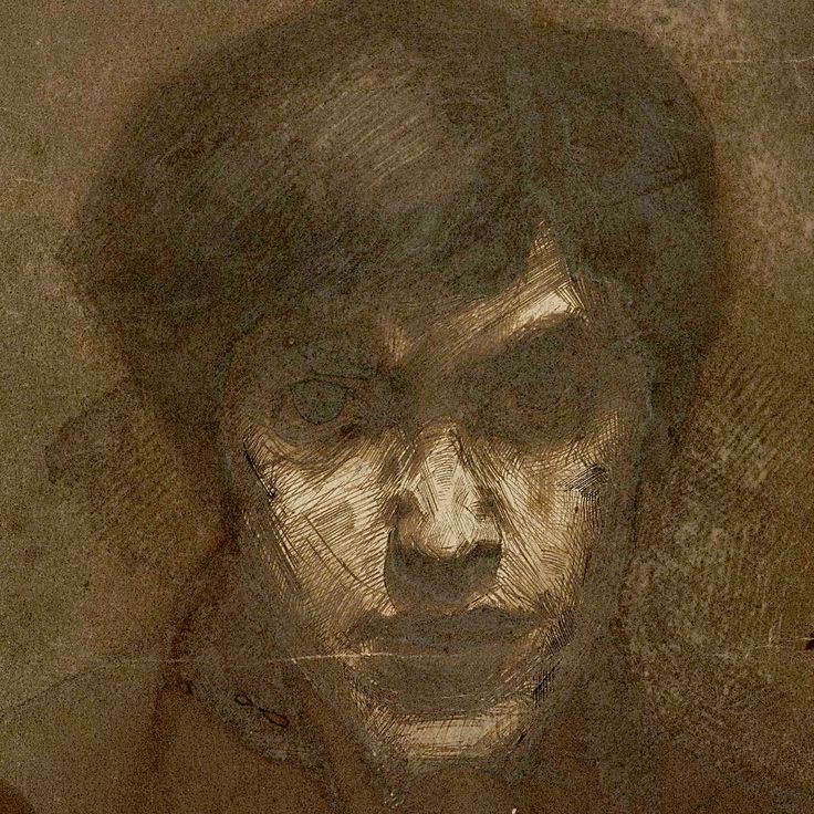 """Jan Toorop (1858–1928) – Self portrait //  Dutch-Indonesian painter, who worked in various styles, including Symbolism, Art Nouveau, and Pointilism. His early work was influenced by the Amsterdam Impressionism movement. Dutch-Indonesians are sometimes also referred to as Indo people, short for """"Indo-European."""""""