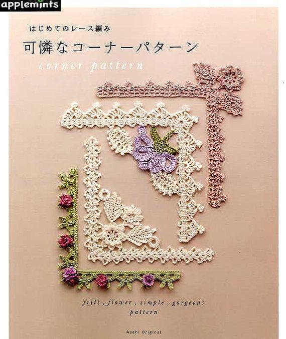 Lace Crochet Corner Patterns Japanese Craft Book