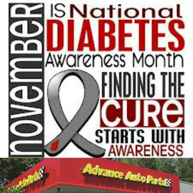 17 Best Ideas About National Diabetes Month On Pinterest