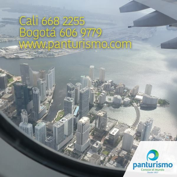 Contáctanos y planeemos juntos tus próximas vacaciones. Cali al 668 2255 y en Bogotá 606 9779. www.panturismo.com