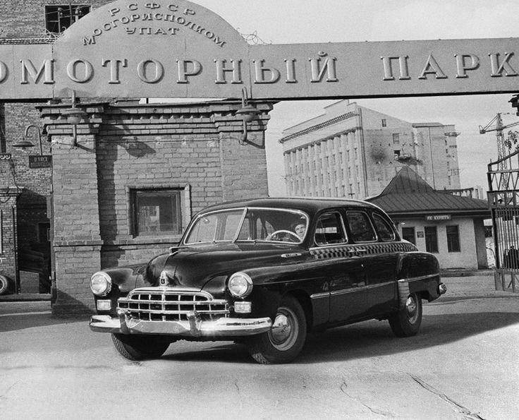 GAZ 12A ZIM Taxi '1952-59 http://en.autowp.ru/gaz/