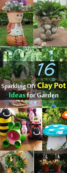 Besides planting, you have no idea that clay pots can be so useful. See these 16 sparkling clay pot ideas to find out.
