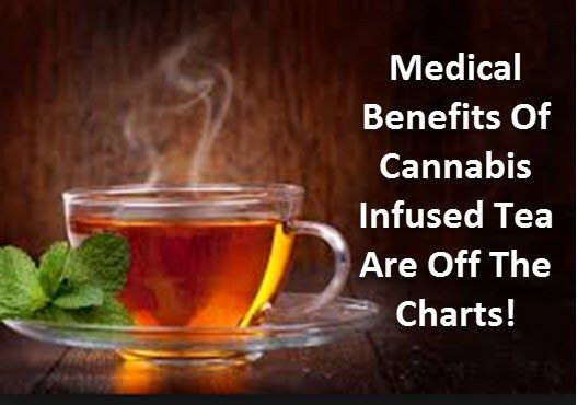 The Medical Benefits Of Cannabis Infused Tea Are Shocking