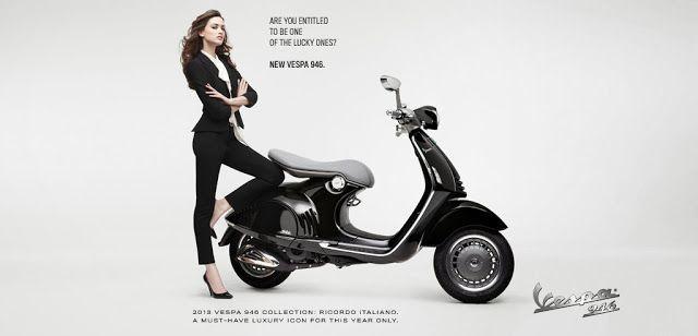 VESPA 946 - Piaggio Vespa Motor Scooter | Dealer Resmi | Sales Service Sparepart