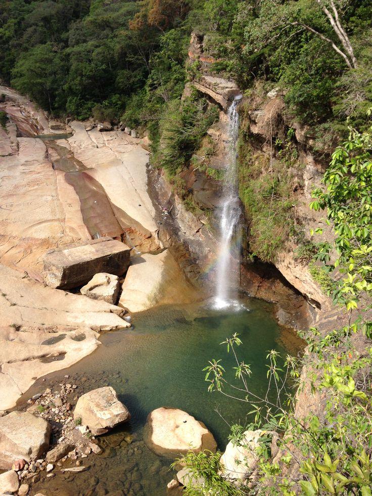 Cascada Pozo Azul, Norte de Santander, Colombia.